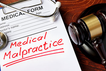 Medical malpractice claim